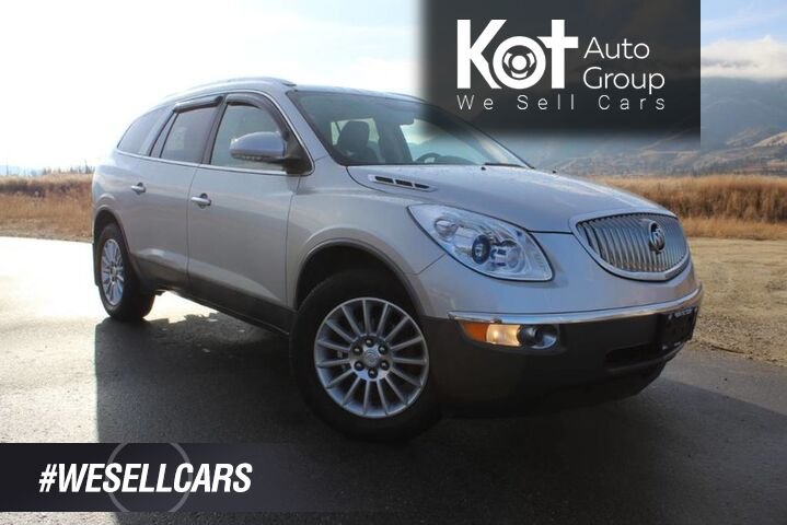 2011 Buick Enclave CXL1, Third Row Seating, Duel Sunroofs Penticton BC
