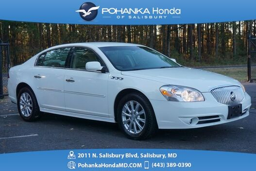 2011_Buick_Lucerne_V6 ** CXL Package ** LOW MILES ** BEST MATCH **_ Salisbury MD