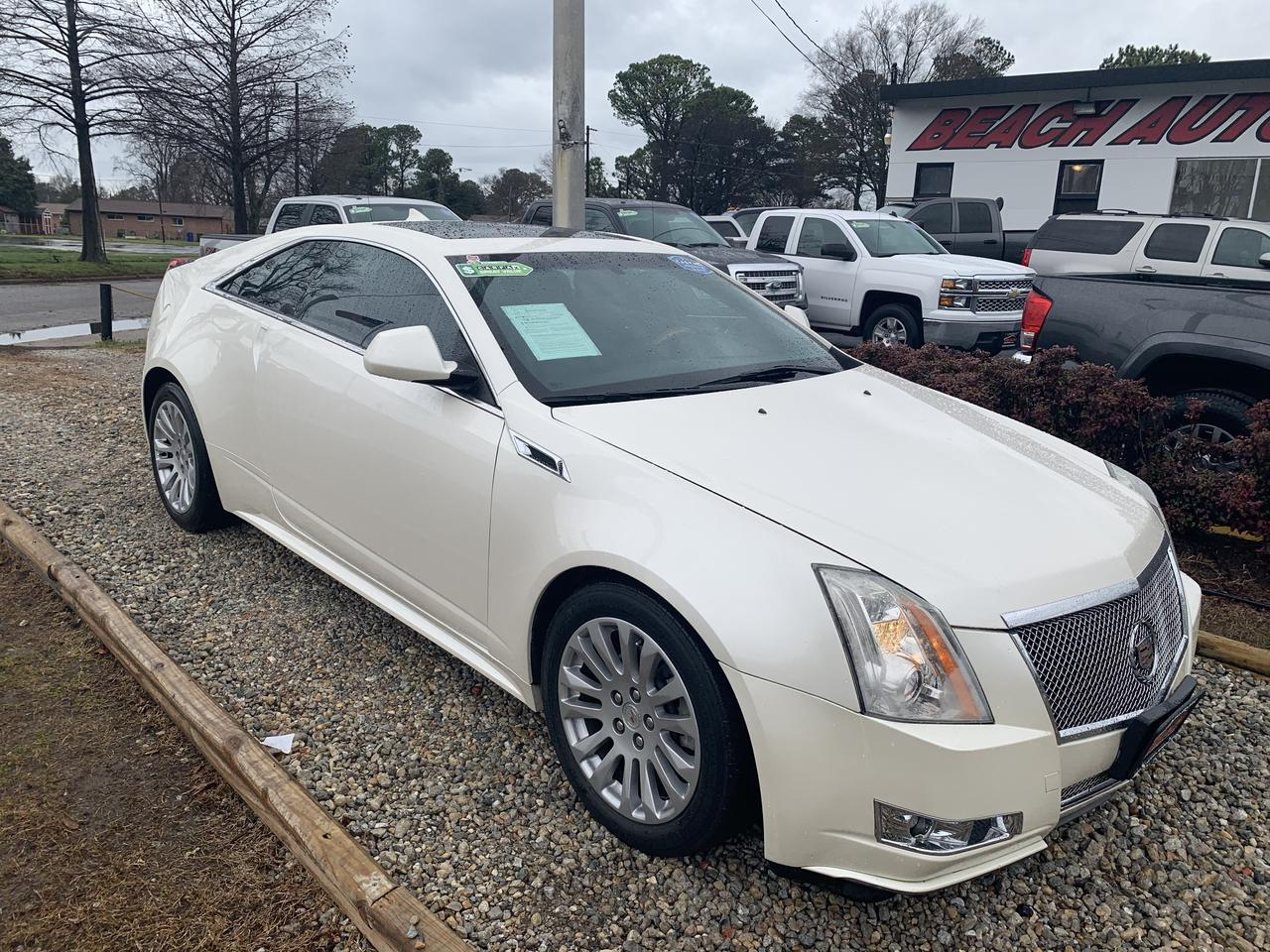 2011 CADILLAC CTS COUPE 4 PREMIUM, WARRANTY, LEATHER, NAV, HEATED SEATS, BACKUP CAM, PARKING SENSORS, SUNROOF, ONSTAR! Norfolk VA