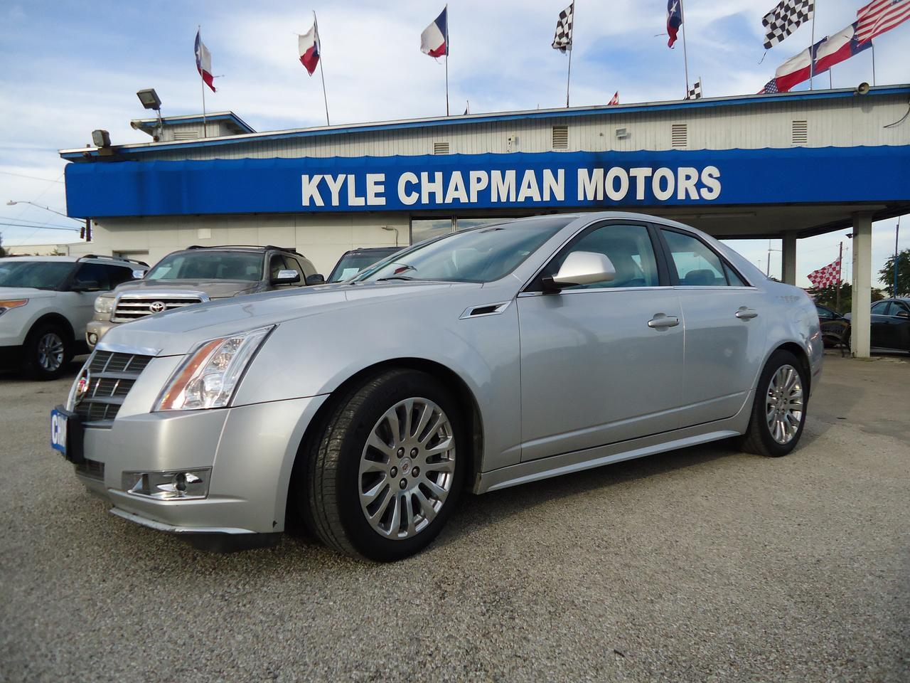 2011 CADILLAC CTS Leather Seats-BTSunroof-Nav-CD-Aux-USB