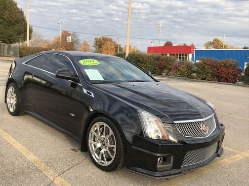 2011_CADILLAC_CTS-V_Coupe_ Frankfort KY