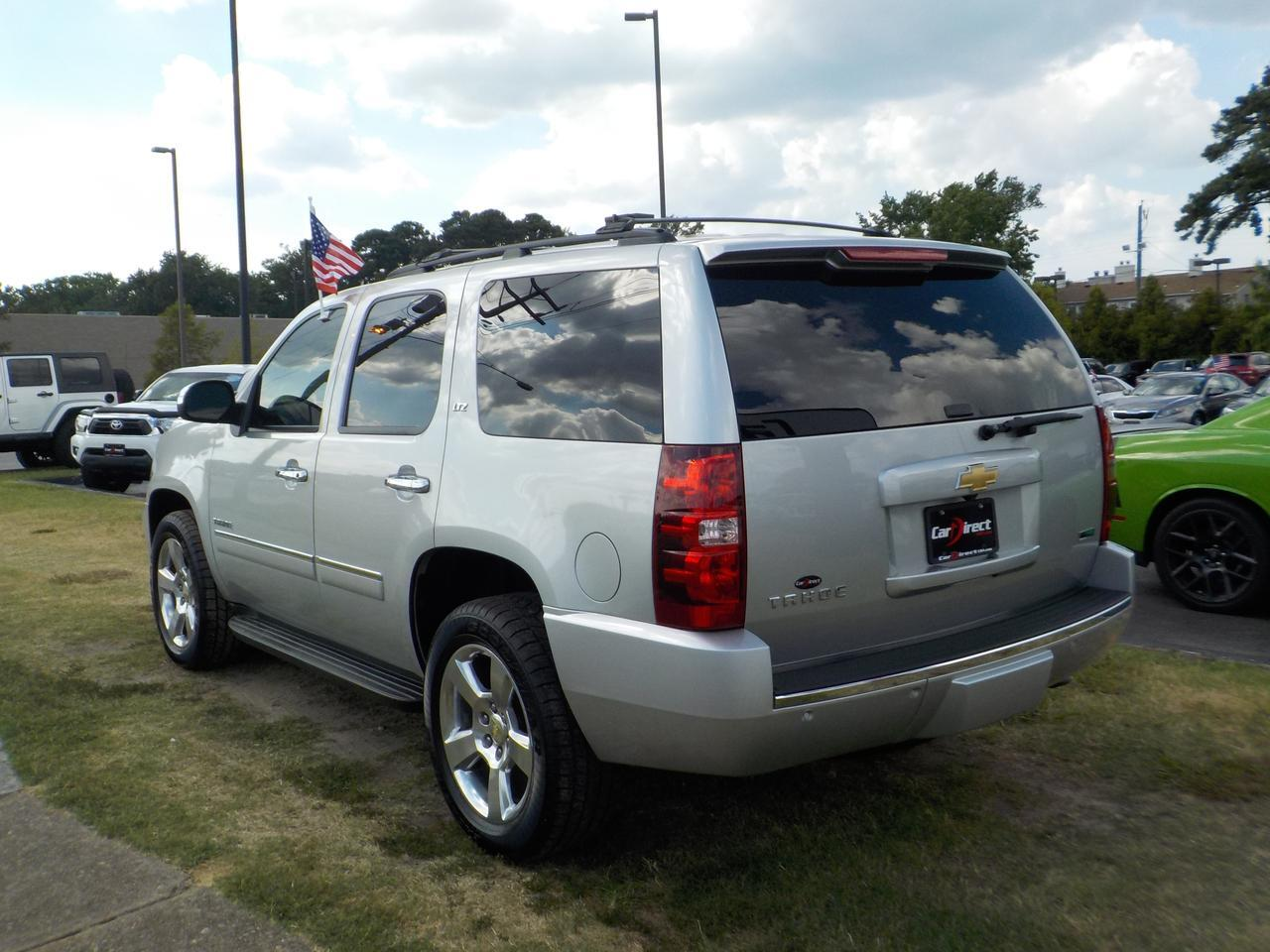 2011 CHEVROLET TAHOE LTZ 4X4, LEATHER, NAV, DVD PLAYER, HEATED/COOLED SEATS, 3RD ROW, BACKUP CAM, PARKING SENSORS! Virginia Beach VA