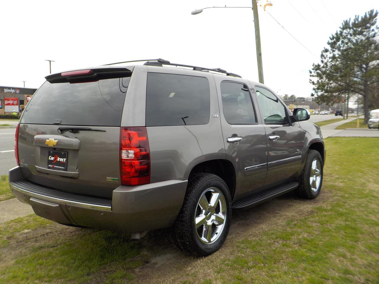 2011 CHEVROLET TAHOE LTZ 4X4, WARRANTY, BOSE SOUND SYSTEM, PARKING SENSORS, DVD, TOW, SUNROOF, NAVIGATION, 3RD ROW! Virginia Beach VA