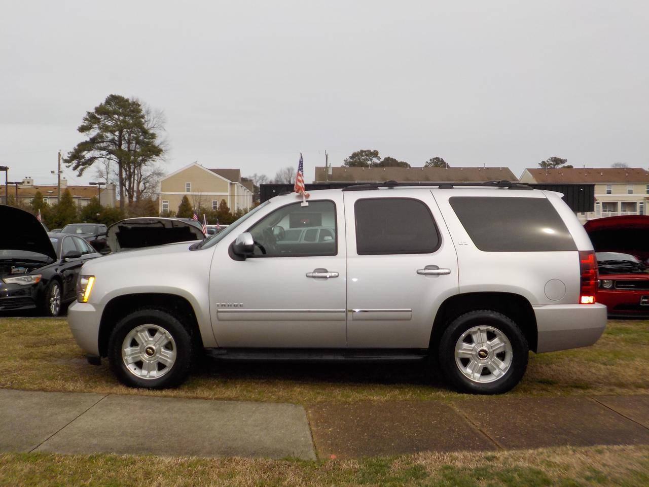 2011 CHEVROLET TAHOE LTZ 4X4, WARRANTY, HEATED & COOLED SEATING, 3RD ROW SEATING, BOSE SOUND SYSTEM, NAVIGATION, TOW! Virginia Beach VA