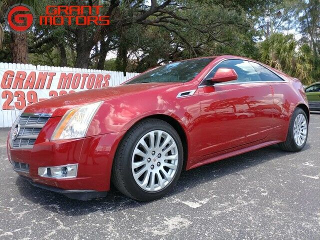 2011_Cadillac_CTS Coupe_Performance_ Fort Myers FL