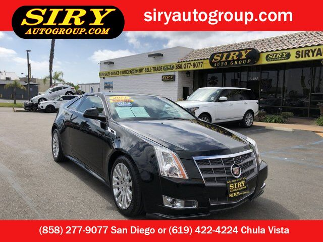 2011 Cadillac CTS Coupe Performance San Diego CA