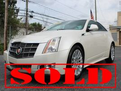 2011 Cadillac CTS Coupe Premium