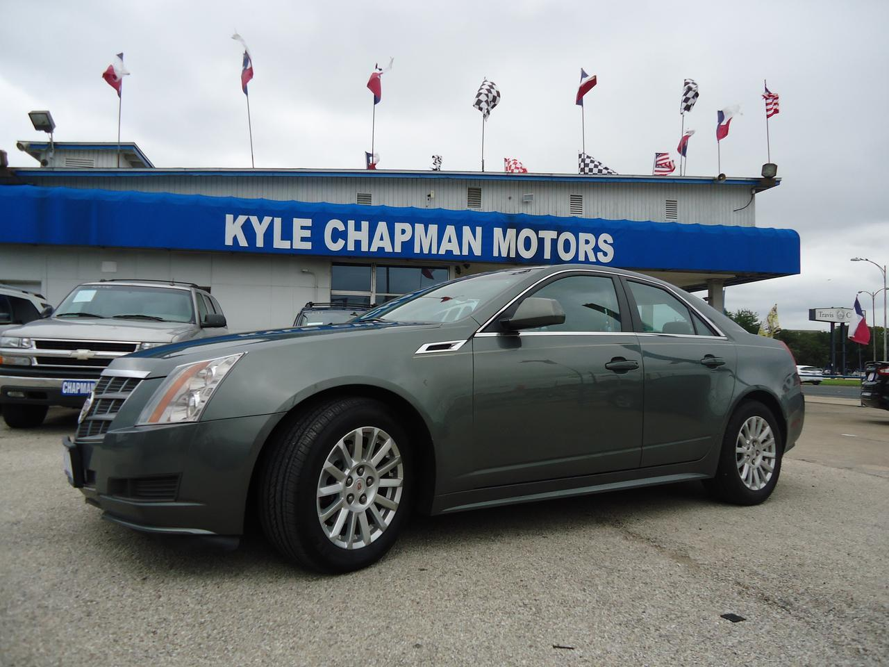 2011 Cadillac CTS Luxury-leather-sunroof-woodgrain-alloy wheels