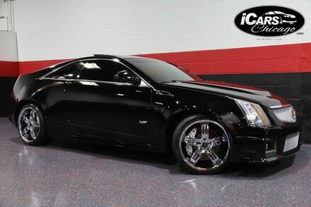 2011_Cadillac_CTS-V_2dr Coupe_ Chicago IL