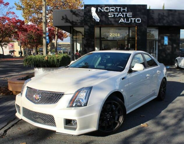 2011_Cadillac_CTS-V Sedan__ Walnut Creek CA