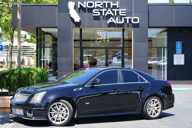 2011_Cadillac_CTS-V Sedan__ Walnut Creek CA