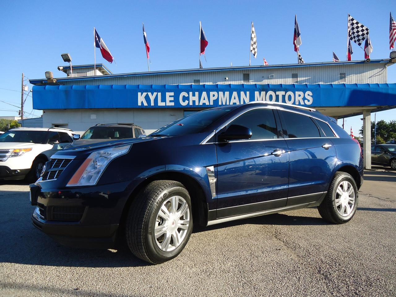 2011 Cadillac srx Luxury Collection-leather-nav-sunroof-htd seats