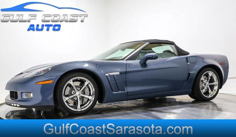 2011 Chevrolet CORVETTE Z16 GRAND SPORT 3LT LIKE NEW ONLY 5K MILES NAVI Sarasota FL
