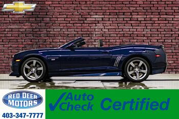2011_Chevrolet_Camaro_2SS Convertible Manual Leather HUD_ Red Deer AB