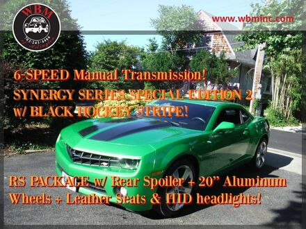 2011_Chevrolet_Camaro_LT w/ RS Package_ Arlington VA
