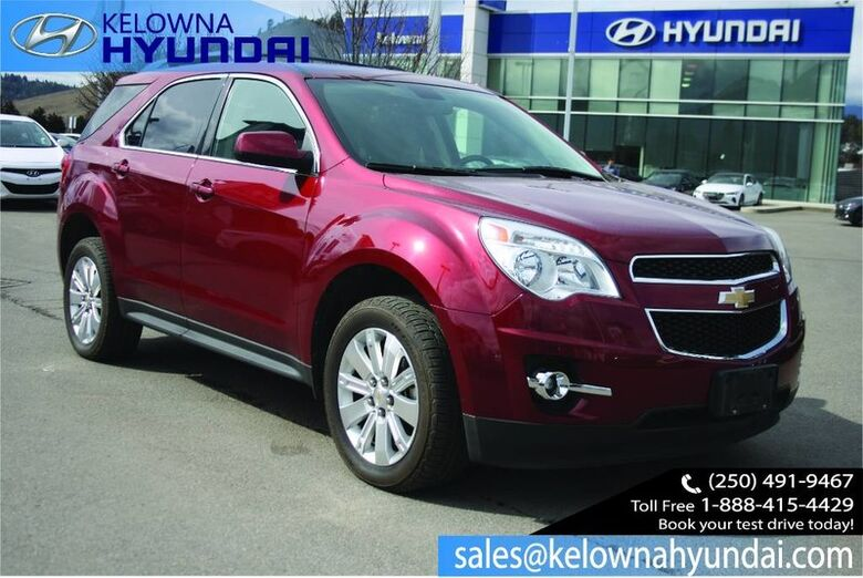 2011 Chevrolet Equinox 1LT One owner NO accident Low kms Kelowna BC