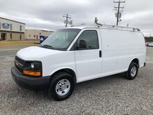 2011_Chevrolet_Express 2500 Cargo Van w/ Ladder Rack & Bins__ Ashland VA