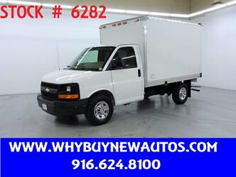 Chevrolet Express 3500 ~ 10ft. Box Van ~ Only 58K Miles! 2011