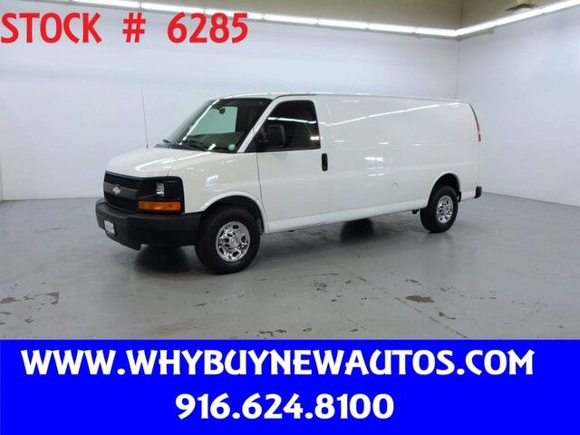 2011 Chevrolet Express 3500 ~ Extended Length ~ Only 42K Miles! Rocklin CA