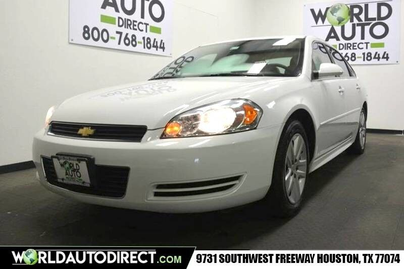 2011_Chevrolet_Impala_LS Fleet 31k 3.5L V6 SFI E85 Engine front wheel drive automatic_ Houston TX