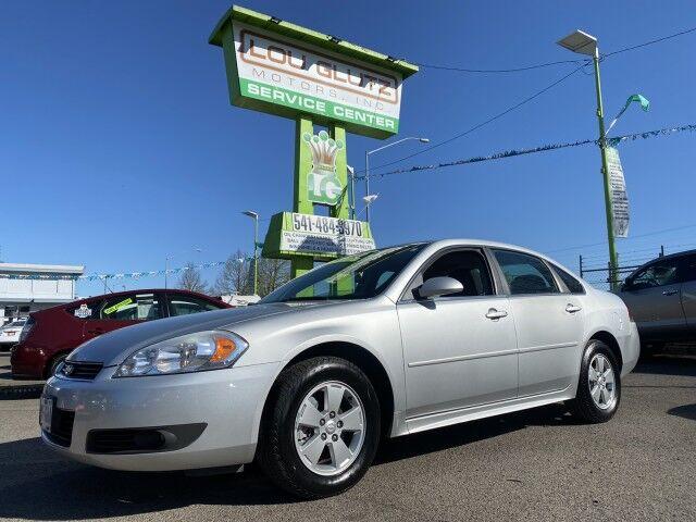 2011 Chevrolet Impala LT Fleet Eugene OR