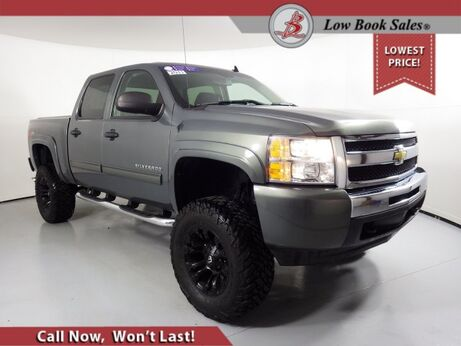 2011_Chevrolet_SILVERADO 1500_CREW CAB 4X4 LT_ Salt Lake City UT