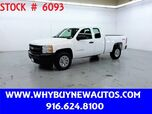 2011 Chevrolet Silverado 1500 ~ 4x4 ~ Extended Cab ~ Only 53K Miles!