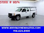 2011 Chevrolet Silverado 1500 ~ 4x4 ~ Extended Cab ~ Only 66K Miles!