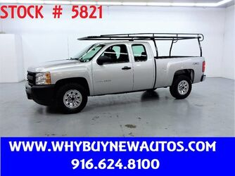 Chevrolet Silverado 1500 ~ 4x4 ~ Extended Cab ~ Only 72K Miles! 2011