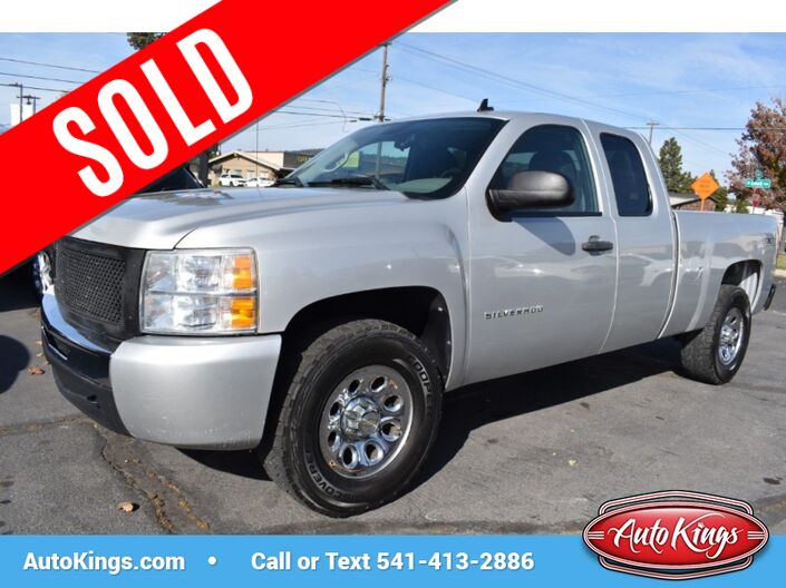 2011 Chevrolet Silverado 1500 LS 4WD Ext Cab Bend OR