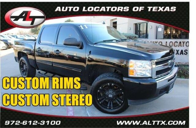2011 Chevrolet Silverado 1500 LS with CUSTOM RIMS Plano TX