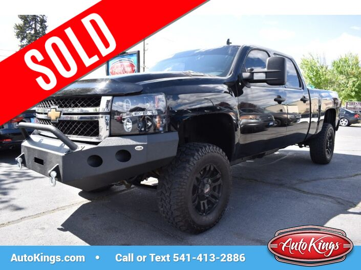 2011 Chevrolet Silverado 2500HD 4WD Crew Cab 153.7 LT Bend OR