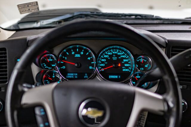 2011 Chevrolet Silverado 2500HD 4x4 Crew Cab LT Diesel Leather Red Deer AB