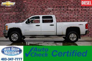 2011_Chevrolet_Silverado 2500HD_4x4 Crew Cab LT Diesel Leather_ Red Deer AB