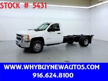 2011_Chevrolet_Silverado 3500HD_~ 4x4 ~ Diesel ~ Cab and Chassis ~ Only 74K Miles!_ Rocklin CA
