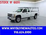 2011 Chevrolet Silverado 3500HD ~ 4x4 ~ Extended Cab ~ Only 71K Miles!