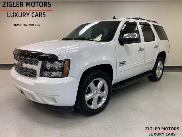 2011 Chevrolet Tahoe LT Texas Edition Captain seats One Owner low miles 43kmi Clean Carfax . Addison TX