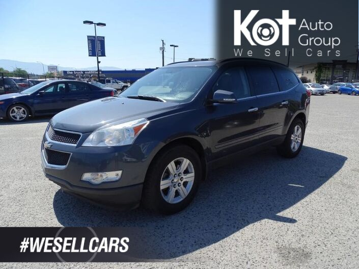 2011 Chevrolet Traverse 2LT, Heated Leather Seats, Entertainment System, Sunroof, Back-up Camera Kelowna BC