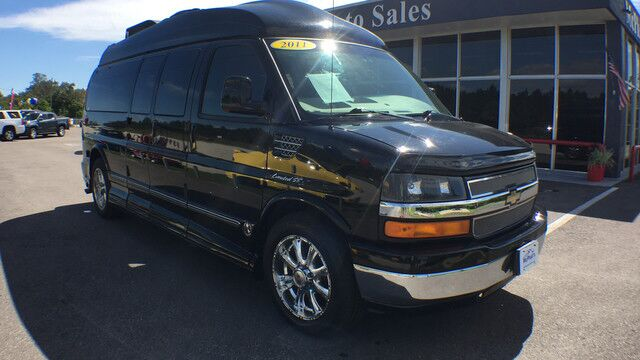 2011 Chevy Express 250 Explorer Conversion YF7 Upfitter w/ Gen Set, RV A/C and Satellite System