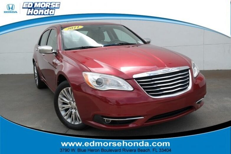 2011 Chrysler 200 4dr Sdn Limited Riviera Beach FL
