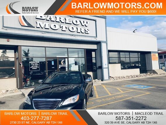 2011_Chrysler_200_Limited ONE OWNER NAVIGATION LOCAL VEHICLE_ Calgary AB