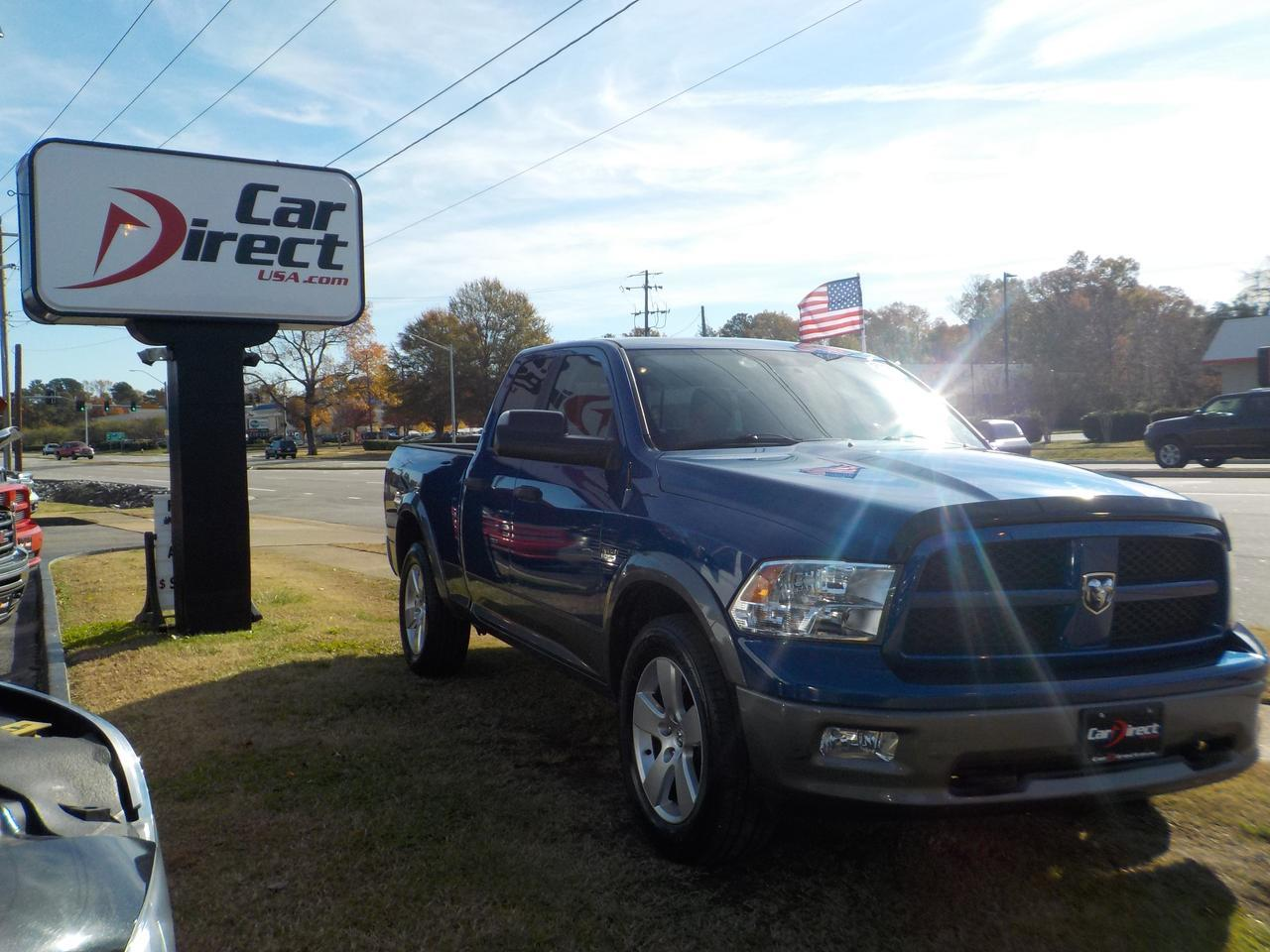 2011 DODGE RAM 1500 SPORT 4X4 QUAD CAB 4 DOOR 5.7L HEMI POWER!  NAVIGATION, SUNROOF, POWER SLIDE REAR WINDOW, LOADED!!!! Virginia Beach VA