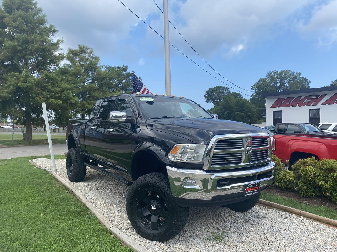 Used 2011 Dodge Ram 2500 Laramie Mega Cab 4x4 Warranty 6 7l Cummins Diesel Lifted Leather Nav Heated Cooled Seats Norfolk Va