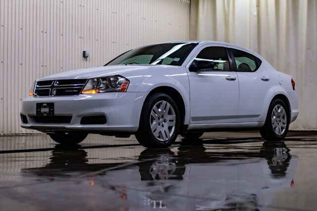 2011 Dodge Avenger SE Sedan Red Deer AB