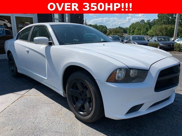 2011 Dodge Charger Police Raleigh NC