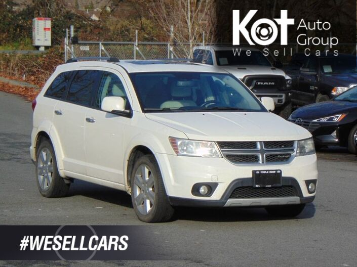 2011 Dodge Journey R/T! AWD! 7 PASS! LEATHER! SUNROOF! TONS OF SPACE! Kelowna BC