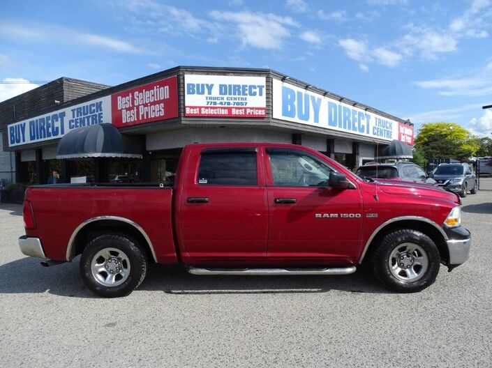 2011 Dodge Ram 1500 ST Tow Package, Running Boards, Low KM's Kelowna BC