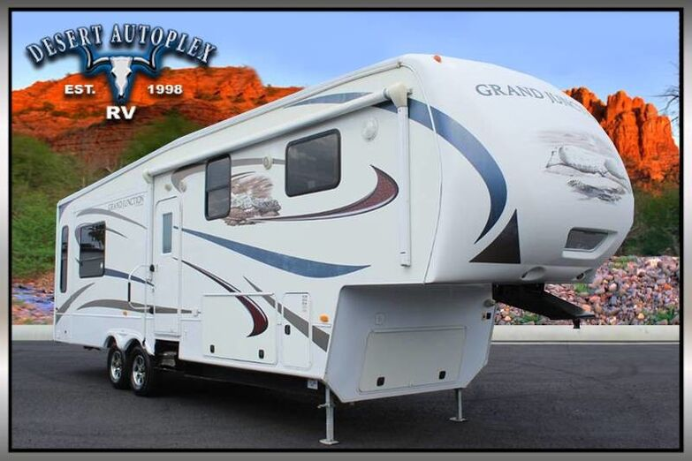 2011 Dutchmen Grand Junction 325RL Triple Slide 5th Wheel RV Treated w/Cilajet Anti-Microbial Fog Mesa AZ