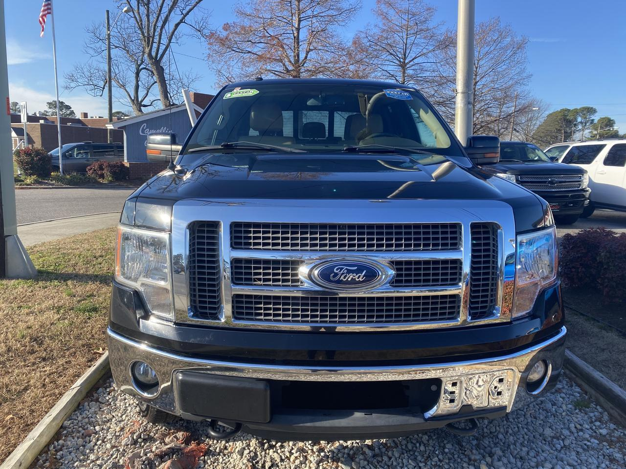 2011 FORD F-150 LARIAT SUPERCREW 4X4, WARRANY, LEATHER, NAV, HEATED/COOLED SEATS, SUNROOF, CLEAN CARFAX! Norfolk VA