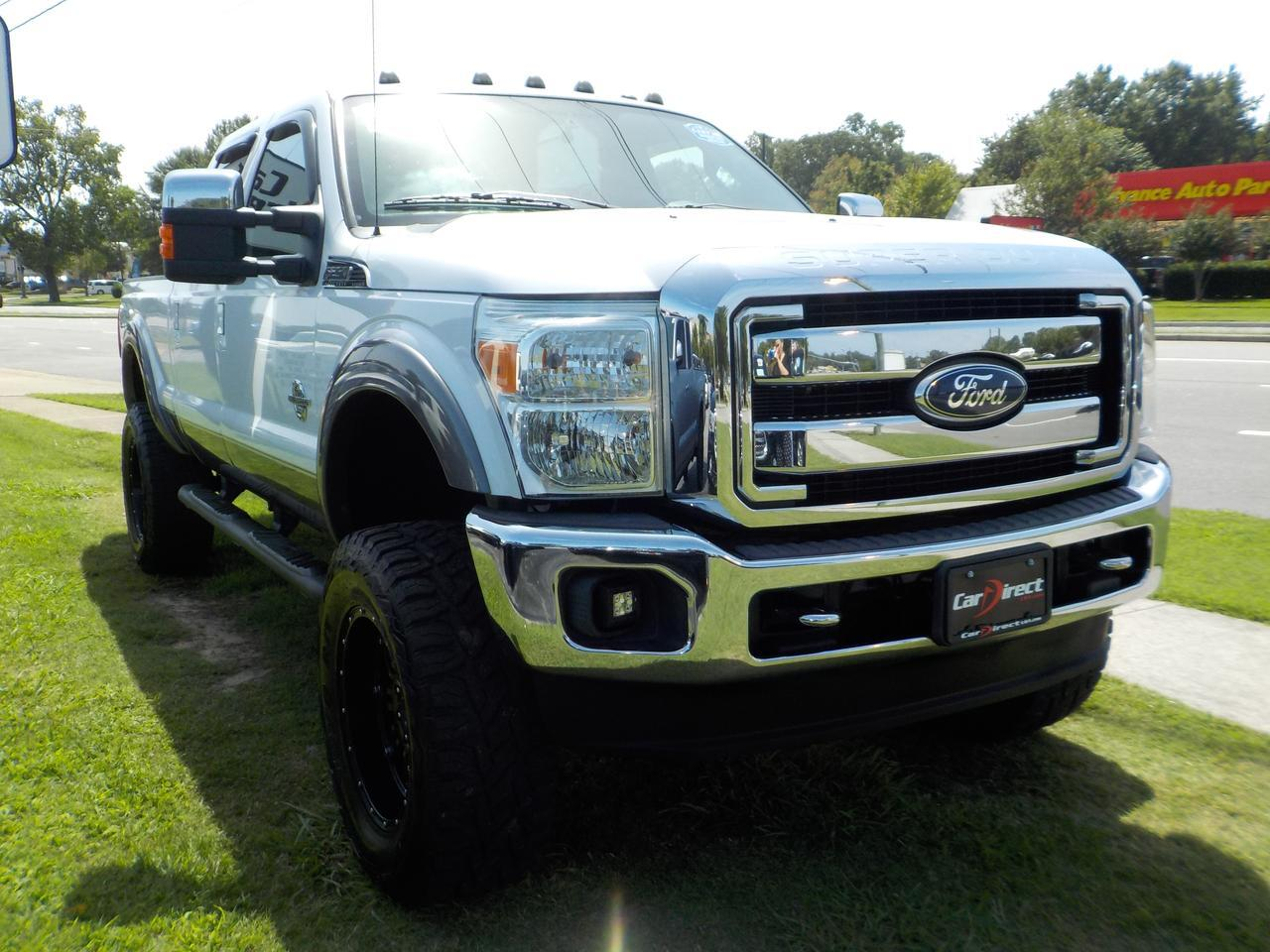 2011 FORD F-250 LARIAT SUPER DUTY 4X4, DIESEL, LEATHER HEATED SEATS, RUNNING BOARDS, SYNC, BACK UP CAM & SENSORS! Virginia Beach VA